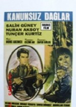 Kanunsuz Dağlar (1966) afişi