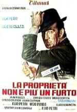 La Proprietà Non è Più Un Furto (1973) afişi