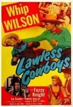 Lawless Cowboys (1951) afişi