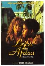 Lejos De África (1996) afişi