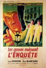 Les Gosses Mènent L'enquête (1947) afişi
