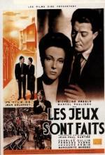 Les Jeux Sont Faits (1947) afişi