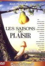 Les Saisons Du Plaisir (1988) afişi