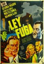 Ley Fuga (1954) afişi