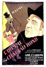 L'homme Au Chapeau Rond (1946) afişi