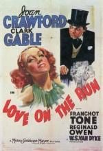 Love On The Run (1936) afişi