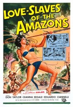 Love Slaves Of The Amazons (1957) afişi