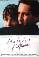 Maladie D'amour (1987) afişi
