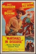 Marshals In Disguise (1954) afişi