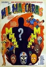 Mil Mascaras (1969) afişi