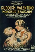 Monsieur Beaucaire (1924) afişi
