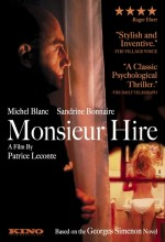 Monsieur Hire (1989) afişi