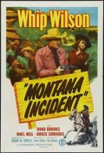 Montana ıncident (1952) afişi