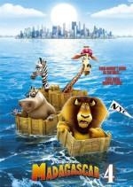 Madagascar 4 (2019) afişi