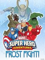 Marvel Süper Kahraman Maceraları: Buz Dövüşü (2016) afişi