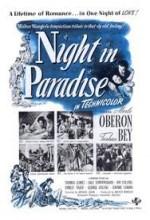 Night In Paradise (1946) afişi