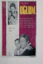 Oğlum (1961) afişi