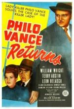 Philo Vance ' In Dönüşü