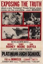 Platinum High School (1960) afişi