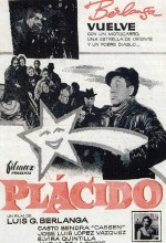 Plácido (1961) afişi
