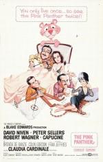 Pembe Panter (1963) afişi