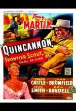 Quincannon, Frontier Scout (1956) afişi
