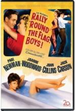 Rally 'round The Flag, Boys! (1958) afişi