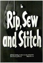 Rip, Sew And Stitch (1953) afişi