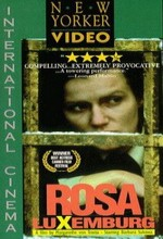 Rosa Luxemburg (1986) afişi