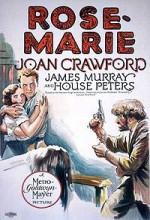 Rose-marie (1928) afişi