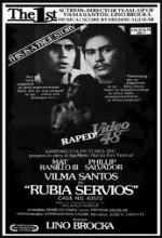 Rubia Servios (1978) afişi