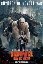 Rampage: Büyük Yıkım (2018) afişi