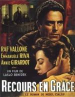 Recours en grâce (1960) afişi