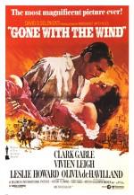 Rüzgar Gibi Geçti (1939) afişi