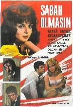 Sabah Olmasın (1963) afişi