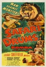 Safari Drums (1953) afişi