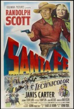 Santa Fe (ı) (1951) afişi