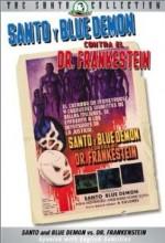 Santo Y Blue Demon Contra El Dr. Frankenstein (1974) afişi