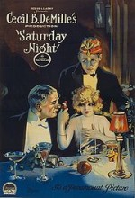 Saturday Night (1922) afişi