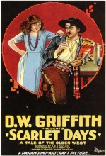Scarlet Days (1919) afişi