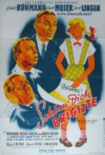 Schäm' Dich, Brigitte! (1952) afişi