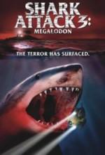 Shark Attack 3: Megalodon (2002) afişi