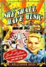 She Shall Have Music (1937) afişi