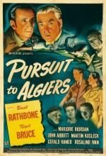 Sherlock Holmes In Pursuit To Algiers (1945) afişi
