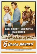 Six Black Horses (1962) afişi