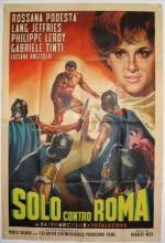 Solo Contro Roma (1962) afişi