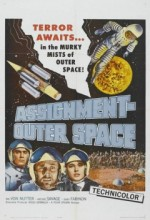 Space Men (1960) afişi