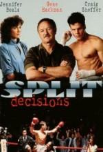 Split Decisions (1988) afişi