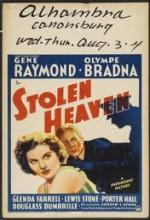 Stolen Heaven (1938) afişi