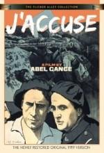 Suçluyorum ! (1919) afişi